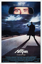 THE HITCHER (1986) ORIGINAL MOVIE POSTER  -  ROLLED