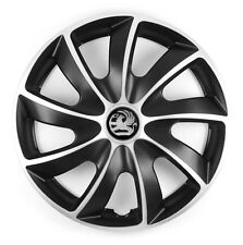 16'' Wheel trims for Vauxhall Vivaro Astra Zafira Meriva Vectra - black/silver