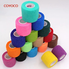 COYOCO Colorful Sport Self Adhesive Elastic Bandage Wrap Tape 4.5m Elastoplast F
