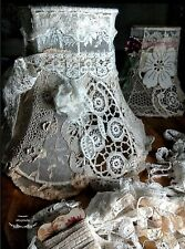 Antique Vintage Cotton Lace Trim 4 YRDS Edwardian Victorian Sewing Dolls Bears