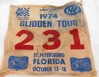 .1974 VMCCA GLIDDEN TOUR, FLORIDA LARGE COMPETITORS BANNER NUMBER 231