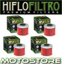 4 Hiflo Filtro de aceite se adapta a HUSQVARNA te250 Meo réplica 2011 Multipack trato a granel