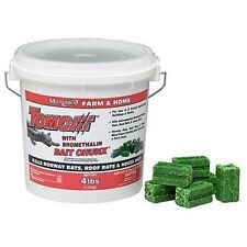 TomCat with Bromethalin Bait Chunx for Rats, Mice and Meadow Voles 4lb
