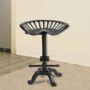 METAL TRACTOR BAR SEAT TABOURET ADJUSTABLE INDUSTRIAL MOULAGE STYLE MODERN CHAIR