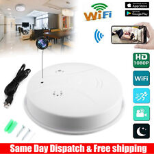 Mini HD 1080P SPY Camera WiFi Hidden Smoking Detector Motion Detection Nanny Cam