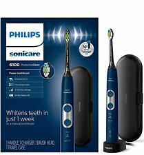 Philips Sonicare HX6871/49 ProtectiveClean 6100 Rechargeable Electric Navy