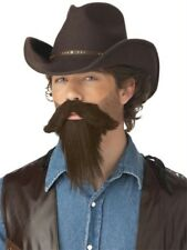 The Rustler Full Goatee From Morris Costumes - Synthetic Fiber Costume Prop