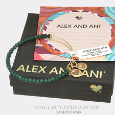 Authentic Alex and Ani Brilliance Bead, Mother Earth Yellow Gold Bangle