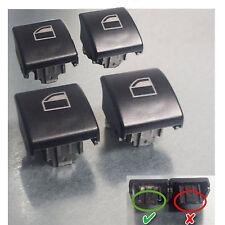 4 Stück Fensterheber Schalter Taster Fensterheberschalter Taste für BMW 3er e46
