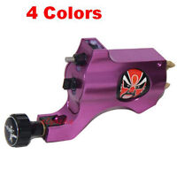 New Purple Bishop Style Rotary Tattoo Machine Gun Aluminum Shader/Liner