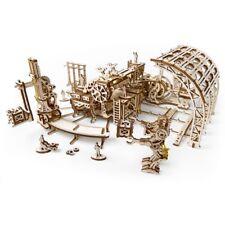 Mechanical UGEARS wooden 3D puzzle Model Robot Factory Construction Set