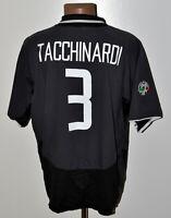 JUVENTUS ITALY 2003/2004 THIRD FOOTBALL SHIRT NIKE TACCHINARDI #10 SIZE L ADULT