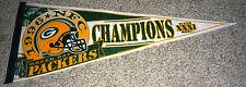 Green Bay Packer 1996 NFC CHAMPIONS Super Bowl XXXI Licensed Pennant Brett Favre