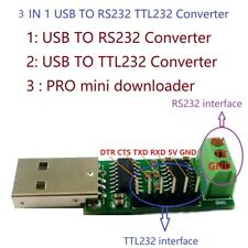 USB to RS232 TTL232 Serial ports UART Converter Pro Mini for WIN10 Linux MAC OS