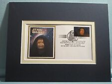 Star Wars and the First day Cover of the Emperor Palpatine stamp