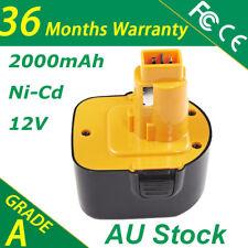 12V 2.0Ah Battery For Dewalt DW979 DC9071 DC9072 DE9071 DE9074 DW9071 DW9072