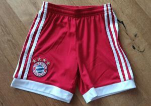 FC Bayern München Short Kinder Adidas Größe 128