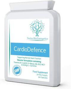 CardioDefence –  Balance of CoQ10, D-Ribose, Acetyl L-Carnitine, B Vitamins