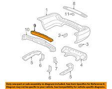 Acura HONDA OEM 01-06 MDX Bumper Face-Foam Impact Absorber Bar 71570S3VA00