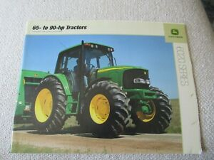John Deere 6120 6220 6320 6420 6020 series tractor brochure 36 pages