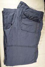 Steve & Barry's Women's Size 14 Navy Convertible Pants A-10 045