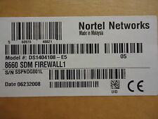 Ds1404108-E5 Nortel Networks 8660 Sdm Direwall1 (Rohs) Brand New!