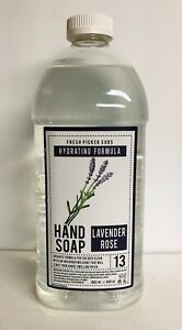 Clean & Beauty ~ Lavender Rose Hydrating Hand Soap Refill 64 fl oz