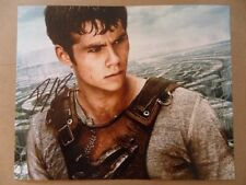 """Dylan O'Brien Signed ~Autographed Photo """"Runner"""""""