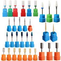 Ceramic Nail Drill Bit Tool Rotary File Manicure Pedicure Set Kit 3/32'' Shank