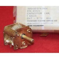 4-18pF 600VDC Air Variable Capacitor Johanson USA 5910-00-574-0464 , 2101212