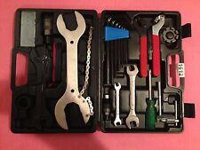 BIKE Riparazione Strumento Set Kit CASE BOX universale-Set 22 Pezzi in Scatola