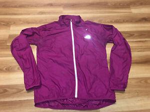 The North Face Women's Size Medium Running Ultra Light Rain Jacket Purple