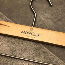 Moncler Gamme Bleu Wooden Garment Trouser Clip Hanger