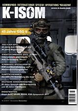 K-ISOM 6/2017 Special Operations Magazin GSG 9 Kampfschwimmer SWAT SEK NEU