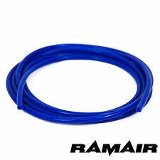 SILICONE 5mm X 5m Vuoto-Impulso-Acqua-Tubo Linea Blu
