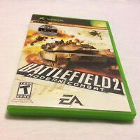 Battlefield 2: Modern Combat (Microsoft Xbox,2005) Complete Manual Free Shipping