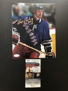 Wayne Gretzky autographed signed 8x10 photo JSA COA NHL New York Rangers Oilers