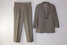 Chaps Ralph Lauren Mens 38 R & 33X30 Wool Cashmere 2 Button Suit Jacket & Pants