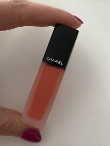 GenuineChanel Rouge Allure Orange Lipstick 158 Highway Ink Matte Liquid Longwear