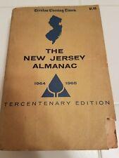 Kennedy, Steele Mabon THE NEW JERSEY ALMANAC  1964-1965 Edition