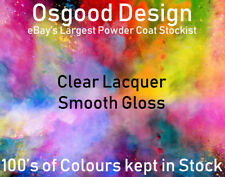Clear Lacquer Smooth Gloss 500g Powder Coat Coating Refurbishment Alloy Wheel