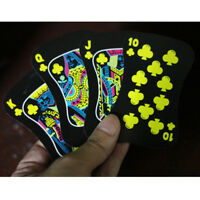 Deck Luminous Poker Playing Cards Fluorescence Bar Nightclub Nights Game Gift