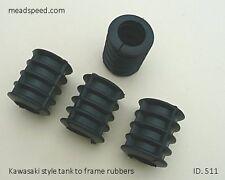 Frame Rubbers, 92075-084,KZ900, Z1000, Tank Rubbers, Norton, TZ350, Triton, BSA.