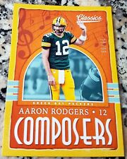 AARON RODGERS 2018 Classics SP 35/99 Green Bay Packers Superbowl MVP $$