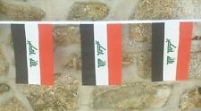 Iraq Flag Polyester Bunting - Various Lengths