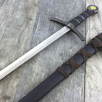 "23"" KING ARTHUR EXCALIBUR KNIGHTS OF THE ROUND TABLE STEEL SWORD Fantasy"