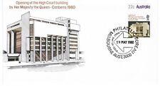 Australia FDC 1980 SG747 High Court Building Canberra