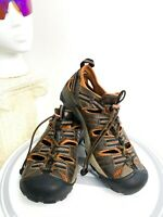 Keen Water Brown Leather Hiking Trail Shoe Mens UsS Size 9.5