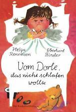 Kinderbuch Von Dorle, das nicht schlafen wollte