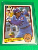 🔥 1983 DONRUSS Baseball Card Set #277 🔥 CHICAGO CUBS🔥 Ryne Sandberg ROOKIE RC